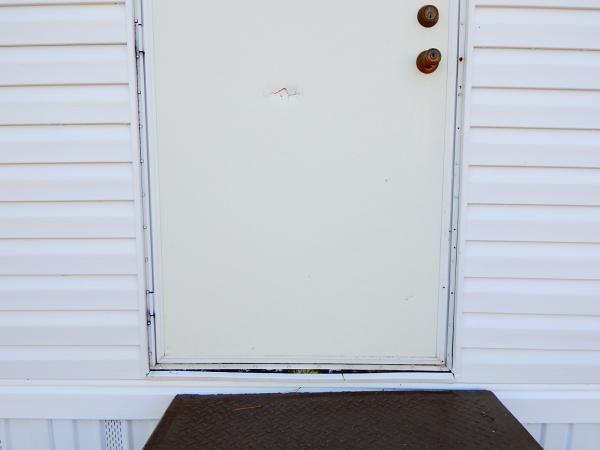 Manufactured home mildew